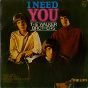Click here for more info about 'The Walker Brothers - I Need You EP - EX'