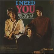Click here for more info about 'The Walker Brothers - I Need You EP'
