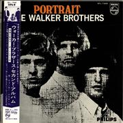 Click here for more info about 'The Walker Brothers - Portrait + Picture Obi'