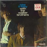 The Walker Brothers Take It Easy With The Walker Brothers - Export UK vinyl LP