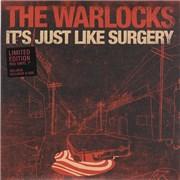 "The Warlocks It's Just Like Surgery UK 7"" vinyl"