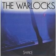 The Warlocks Shake - 1 track UK CD-R acetate Promo