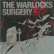 The Warlocks Surgery UK 2-disc CD/DVD set
