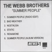 Click here for more info about 'The Webb Brothers - Summer People - 6 Tracks'