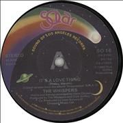 Click here for more info about 'The Whispers - It's A Love Thing'