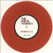 Click here for more info about 'The White Stripes - Red Death At 6:14 - Red Vinyl'