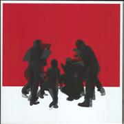 The White Stripes White Blood Cells XX - Red & White Vinyl + DVD USA 2-LP vinyl set