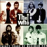 Click here for more info about 'The Who - 30 Years Of Maximum R&B'