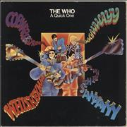 The Who A Quick One / Sell Out UK 2-LP vinyl set