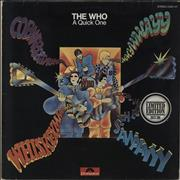 Click here for more info about 'The Who - A Quick One - EX'