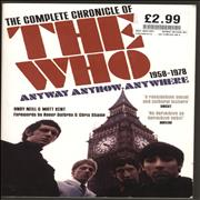 Click here for more info about 'Anyway Anyhow Anywhere: The Complete Chronicle of The Who'