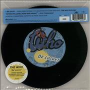"The Who Be Lucky - Black Friday/Record Store Day - Etched UK 7"" vinyl"