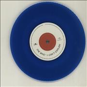 "The Who Be Lucky - RSD15 - Blue Vinyl UK 7"" vinyl"