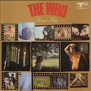 The Who Direct Hits - EX UK vinyl LP