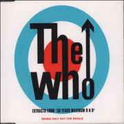 Click here for more info about 'The Who - Extracts From 30 Years Maximum R & B'