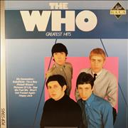 The Who Greatest Hits Netherlands vinyl LP