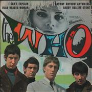 "The Who I Can't Explain EP - VG France 7"" vinyl"