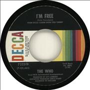 Click here for more info about 'The Who - I'm Free'