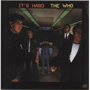 The Who It's Hard - Sealed UK vinyl LP