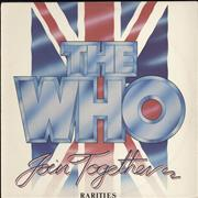 The Who Join Together - Rarities New Zealand vinyl LP
