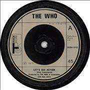 Click here for more info about 'The Who - Let's See Action - Cream Injection'