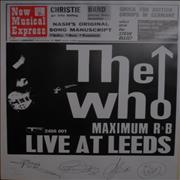 Click here for more info about 'Live At Leeds - Numbered Poster'