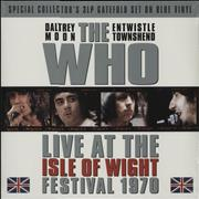 Click here for more info about 'Live At The Isle Of Wight Festival 1970 - Blue Vinyl + Sealed'