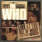 Click here for more info about 'The Who - Live At The Isle Of Wight Festival 1970'