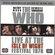 Click here for more info about 'The Who - Live At The Isle Of Wight Festival 1970 - Blue Vinyl'