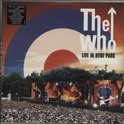 Click here for more info about 'The Who - Live In Hyde Park + DVD - Sealed'