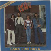 Click here for more info about 'The Who - Long Live Rock + Sleeve'