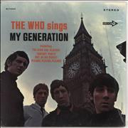 The Who My Generation - 2nd - Sleeve Variant USA vinyl LP