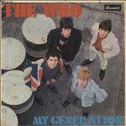 Click here for more info about 'The Who - My Generation - 1st - VG'