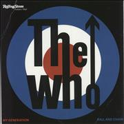 """The Who My Generation - White Vinyl Germany 7"""" vinyl Promo"""