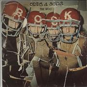The Who Odds & Sods - 1st + Poster - Sample UK vinyl LP