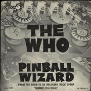 Click here for more info about 'The Who - Pinball Wizard + Picture Sleeve'