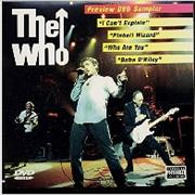 Click here for more info about 'The Who - Preview DVD Sampler'