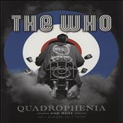 Click here for more info about 'The Who - Quadrophenia + ticket stub & clippings'