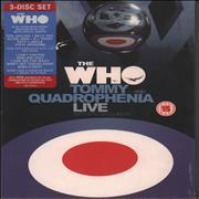 Click here for more info about 'The Who - Quadrophenia And Tommy Live - Sealed'