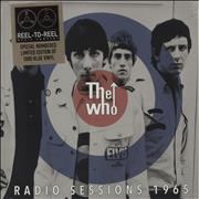 "The Who Radio Session's 1965 - Blue Vinyl + Numbered Sleeve - Sealed UK 10"" vinyl"