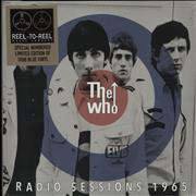"The Who Radio Session's 1965 - Blue Vinyl + Sleeve #0003 - Sealed UK 10"" vinyl"