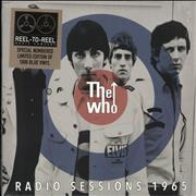 Click here for more info about 'The Who - Radio Session's 1965 - Blue Vinyl + Numbered Sleeve'