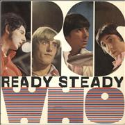 "The Who Ready Steady Who EP - 1st - 3pr - VG UK 7"" vinyl"