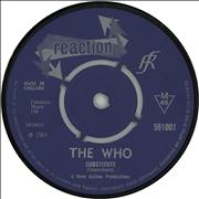 "The Who Substitute / Circles - 4pr - Withdrawn UK 7"" vinyl"