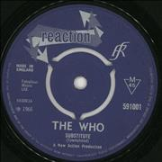 Click here for more info about 'The Who - Substitute / Instant Party - 3pr - VG'