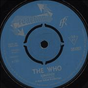 "The Who Substitute / Waltz For A Pig - 4pr - Vg UK 7"" vinyl"