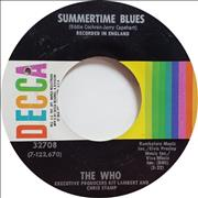 Click here for more info about 'The Who - Summertime Blues - Deletion hole'