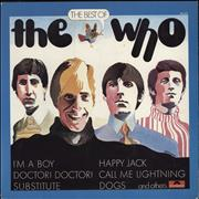 The Who The Best Of The Who Germany vinyl LP