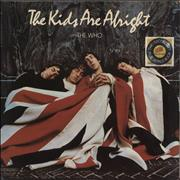 The Who The Kids Are Alright + booklet + insert- EX UK 2-LP vinyl set
