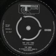 "The Who The Last Time UK 7"" vinyl"
